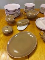 Russell Wright Iriquois Dinnerware Set - 70 pieces