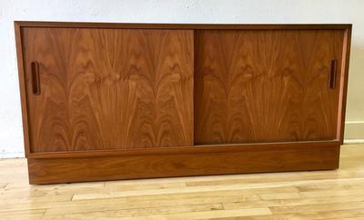 Danish Teak Credenza - Pair Available