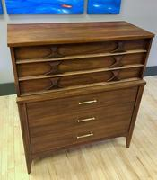 Perspecta Line Highboy Dresser by Kent-Coffey
