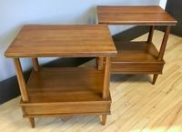 Pair of End / Side Tables by John Widdicomb