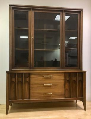 MCM Kent-Coffey Perspecta Hutch Breakfront China Cabinet