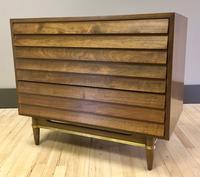 Small Dania Line Dresser Chest by Merton Gershun for American of Martinsville