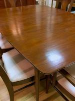 Kent Coffey Perspecta Dining Set refinished
