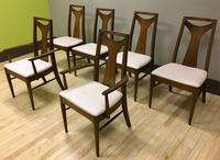 Kent Coffey Perspecta Dining Set, Table and Six Chairs