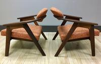 916CC Adrian Pearsall Lounge Chairs sides