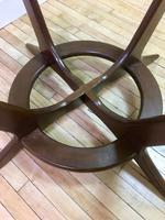 Adrian Pearsall Compass Dining Table bottom detail