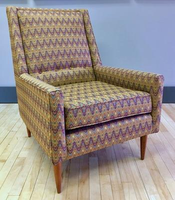 Paul McCobb Style Chair Reupholstered for Sale