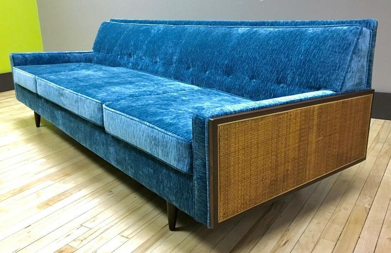 Remarkable 1950S 1960S Reupholstered Sofa Couch Sweet Modern Uwap Interior Chair Design Uwaporg