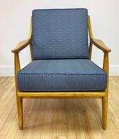 Danish style Lounge Chair Front Facing