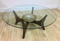 Adrian Pearsall coffee table with shelf