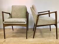 Ib Kofod Larson Occasional Chairs front and side