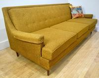 1950s Living Room Set in Gold sofa