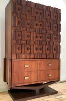 Brutalist armoire