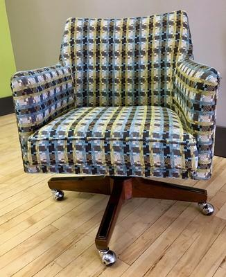 Plaid/Houndstooth Office Chair