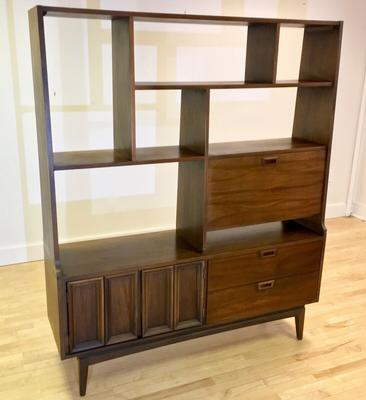 Vintage Mid-century Room Divider / Wall Unit / Bar